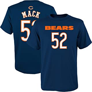 cf818e01 Outerstuff Khalil Mack Chicago Bears NFL Apparel Youth 8-20 Navy Mainliner  Player Name &