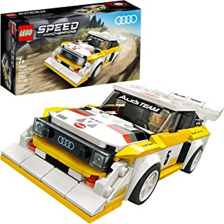 LEGO Speed Champions 1985 Audi Sport Quattro S1 76897 Toy Cars for Kids Building Kit Featuring Driver Minifigure, New 2020 (250 Pieces)