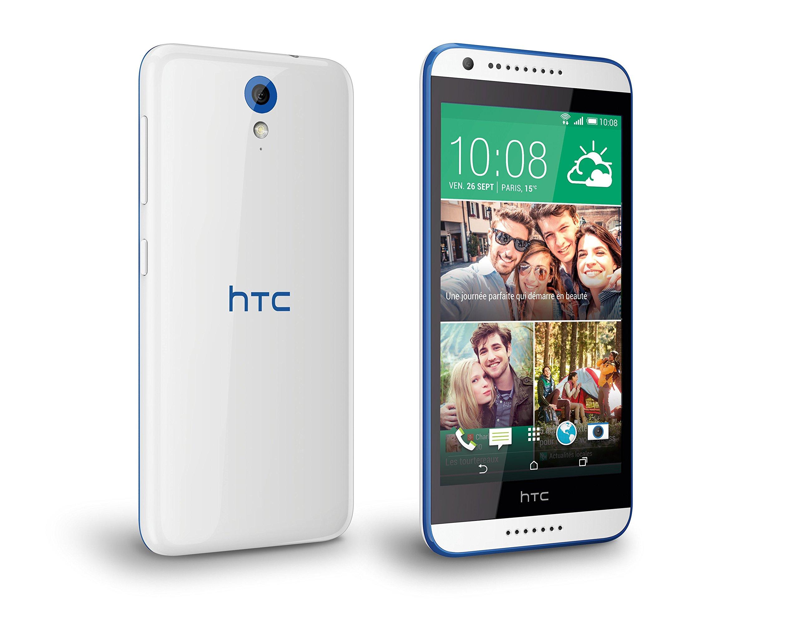 HTC Desire 620 8GB 4G Azul, Color blanco: Amazon.es: Electrónica