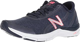 New Balance Women's 711v3 Cush + Cross Trainer, Navy, 11 B US