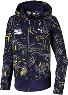 PUMA Kids Alpha AOP Sweat Jacket FL