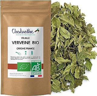 Chabiothé - Verveine Bio - origine France - feuilles coupées 80g