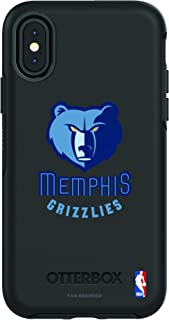 Fan Brander NBA Phone case Compatible with Apple iPhone X and Apple iPhone Xs and with OtterBox Symmetry Series