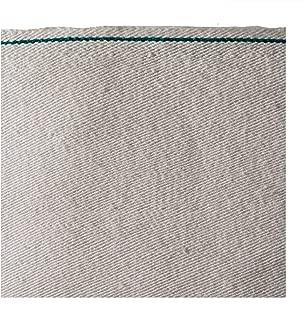 Denim Club India Unisex Eco friendly Light Weight Khadi Selvedge Denim Fabric Off-White 6 Oz (3 meter length)