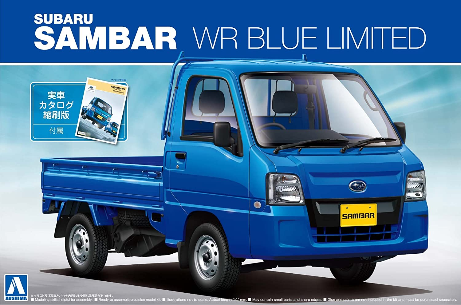 1 24 The Best Car GT Series No.22 '11 Sambar track WR bluee Limited