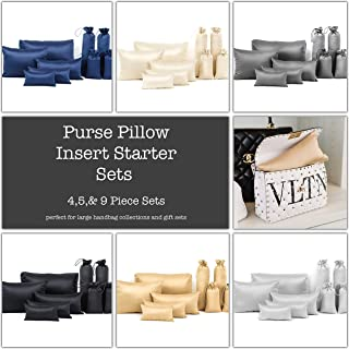 STARTER SETS: Luxury Purse Pillow insert sets: 3 different set sizes & 8 colors, FREE SHIPPING
