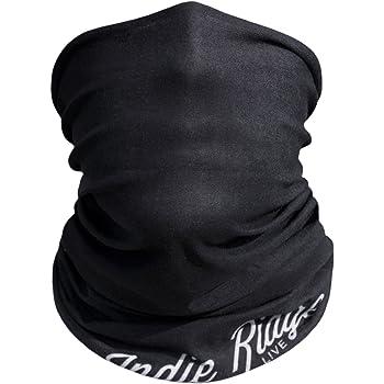 Black Outdoor Motorcycle Face Mask By Indie Ridge - Ski Snowboard Seamless Headwear