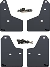 RokBlokz Mud Flaps for 2012+ Ford Focus - Multiple Colors Available - Set of 4 - Fits All MK3 Models - Includes All Hardware and Detailed Instructions (Black with Black Logo, Originalz)