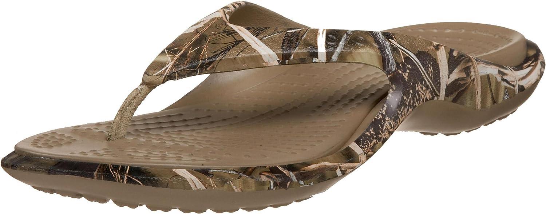Crocs Unisex Baja Realtree Flip-Flop
