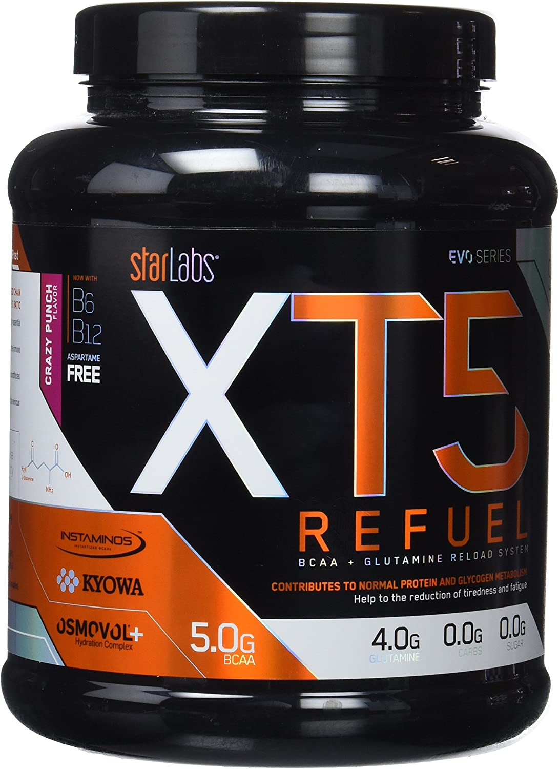 Starlabs Nutrition XT5 Refuel Crazy Punch - 1008 gr: Amazon ...
