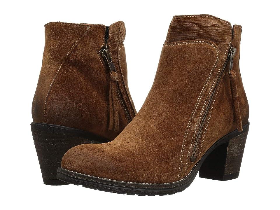 Taos Footwear Dillie (Whiskey Suede) Women