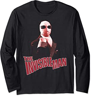 The Invisible Man Red Hue Long Sleeve T-Shirt