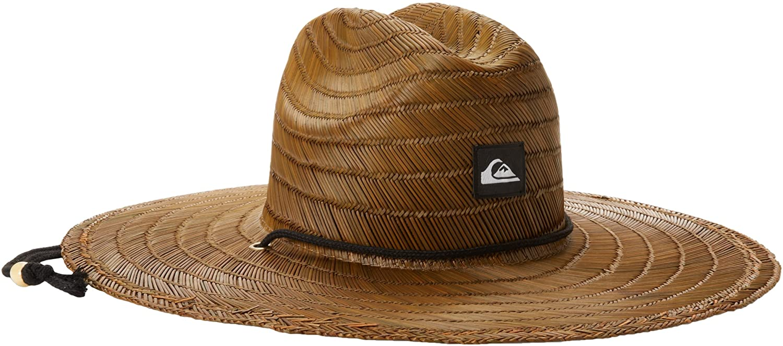 Quiksilver Men's Pierside Max 84% OFF Lifeguard Beach Hat Sun Spring new work Straw