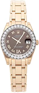 Rolex Datejust Mechanical (Automatic) Brown Dial Womens Watch 81285 (Certified Pre-Owned)