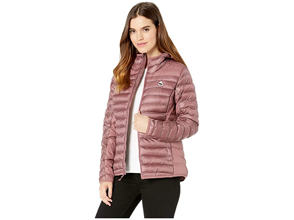 Burton Evergreen Synthetic Hooded Insulator (Rose Brown) Women