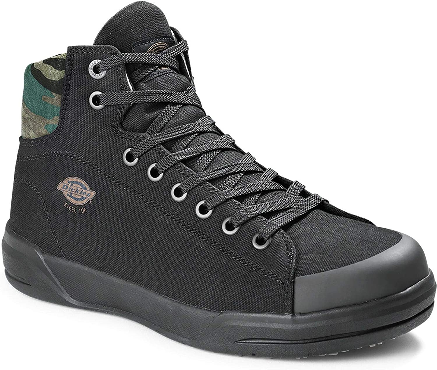 Dickies Ranking TOP8 Supa Dupa Safety Shoes Black 5% OFF