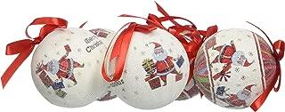 VERDUGOGIFTCO Jolly Santa Ornament Box Set