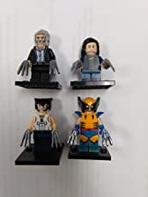 wolverine, old man logan, x-23, x-men wolverine KO minifigure lot in clear bag sealed condition