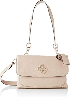 Guess Chic Shine Shoulder Bag, Bags Satchel Mujer, Talla Única Size: Talla única