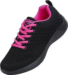 CXWRZB Mujer Gimnasia Ligero Sneakers Zapatillas de Deportivos de Running para