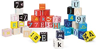 Janod 40 Letters and Numbers Blocks