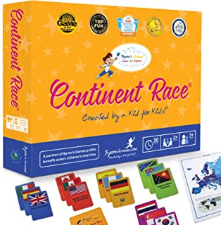 Educational Board Games for Families and Kids - A Fun, Interactive Learning Card Game for The Whole Family - Learn Geograp...