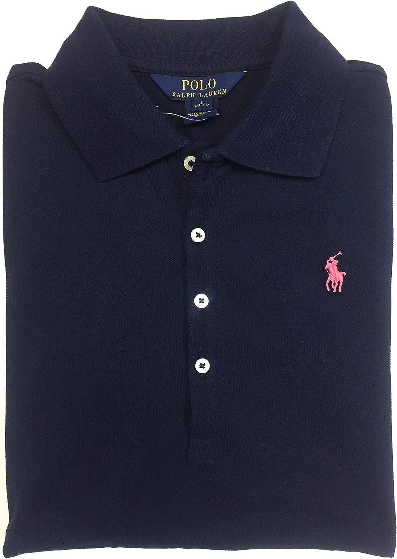 Ralph Lauren Polo Girls Mesh Short Sleeve Shirt Size 5
