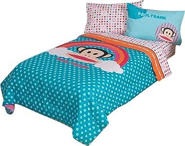 "Paul Frank Julius Rainbow Dots 64"" x 86"" Comforter, Twin"