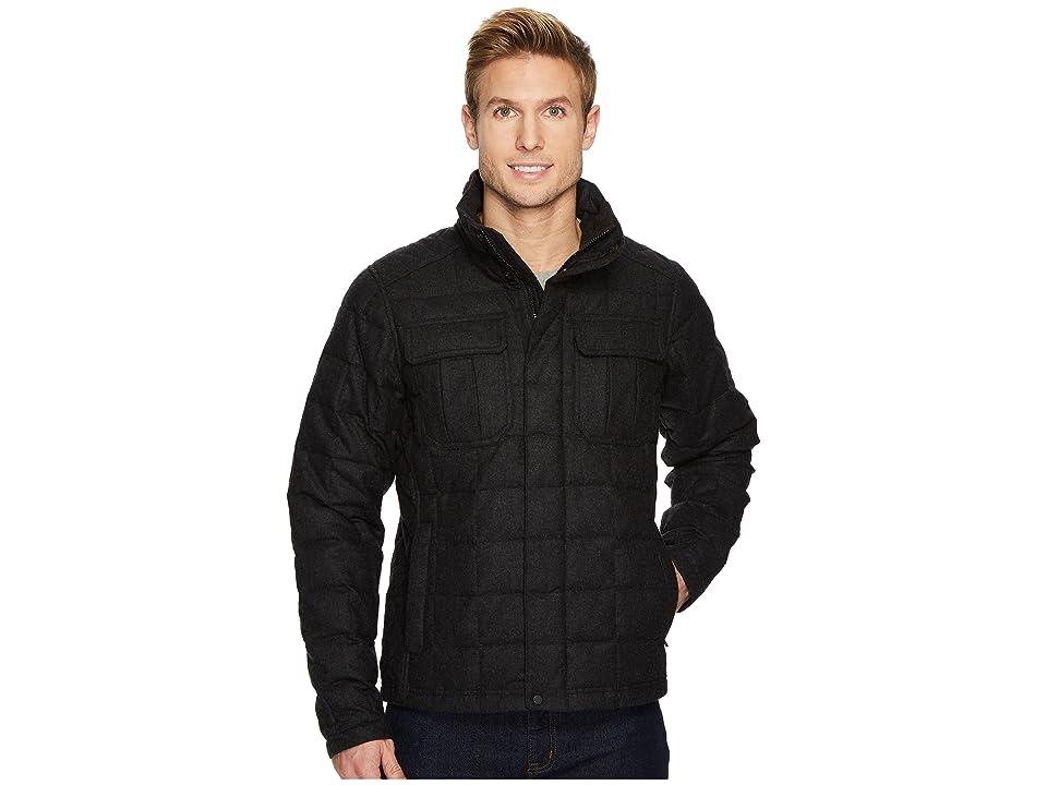 NAU Utility Wool Down Jacket (Caviar Heather) Men