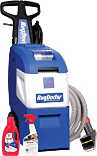 Rug Doctor Might Pro X3 Family Pack Vacuum, Large, Blue
