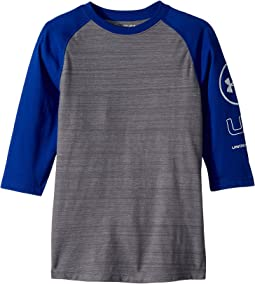 Under Armour Kids - MVP Power Sleeve Tee (Big Kids)