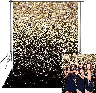 Daniu Gold Glitter Sequin Spot Backdrops Starry Sky Shining Astract Photo Background Party Wedding Children Newborn Photography Studio Props
