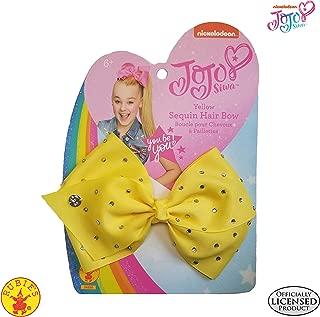 Rubie's JoJo Siwa Hair Bow, Yellow