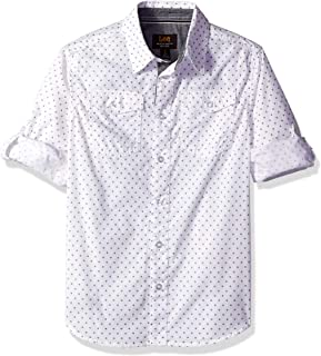 LEE 男孩长袖纽扣衬衫
