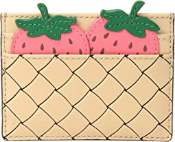 Kate Spade New York Picnic Perfect Strawberry Card Holder