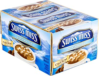 Swiss Miss Hot Cocoa, with Marshmallows, 0.73 Oz, Box of 50 Packets
