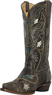 Womens Western Cowgirl Cowboy Boots, Juliet Heritage...