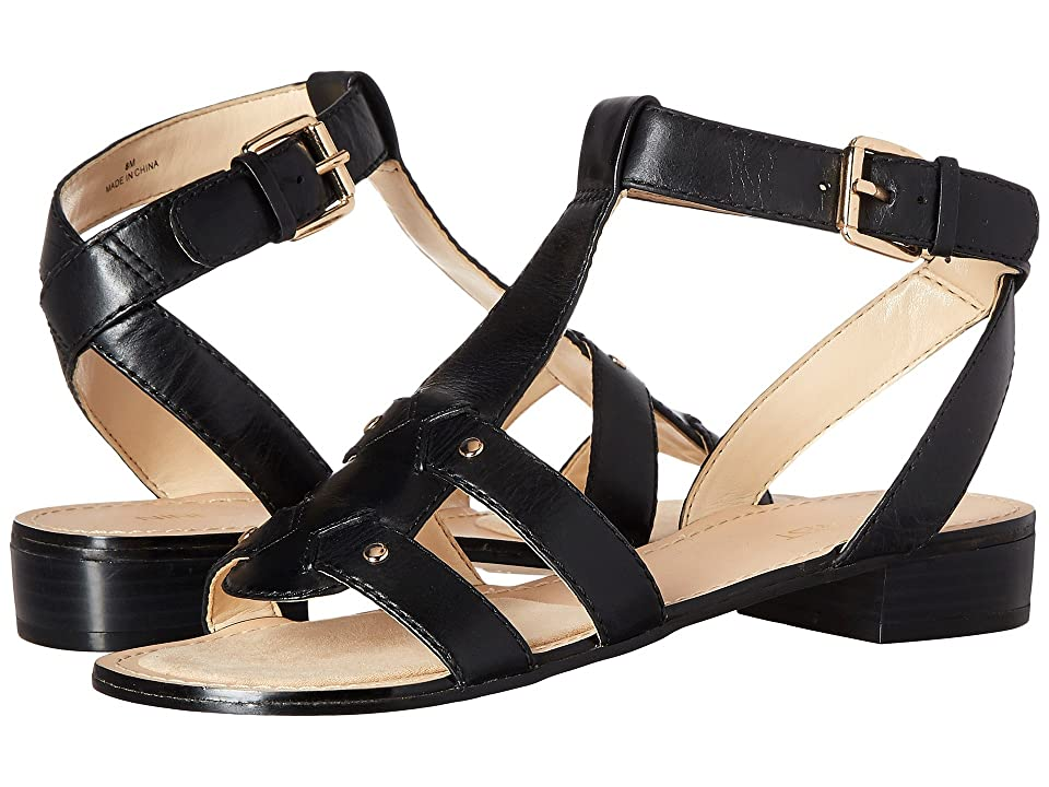 Nine West Yippee (Black Leather) Women
