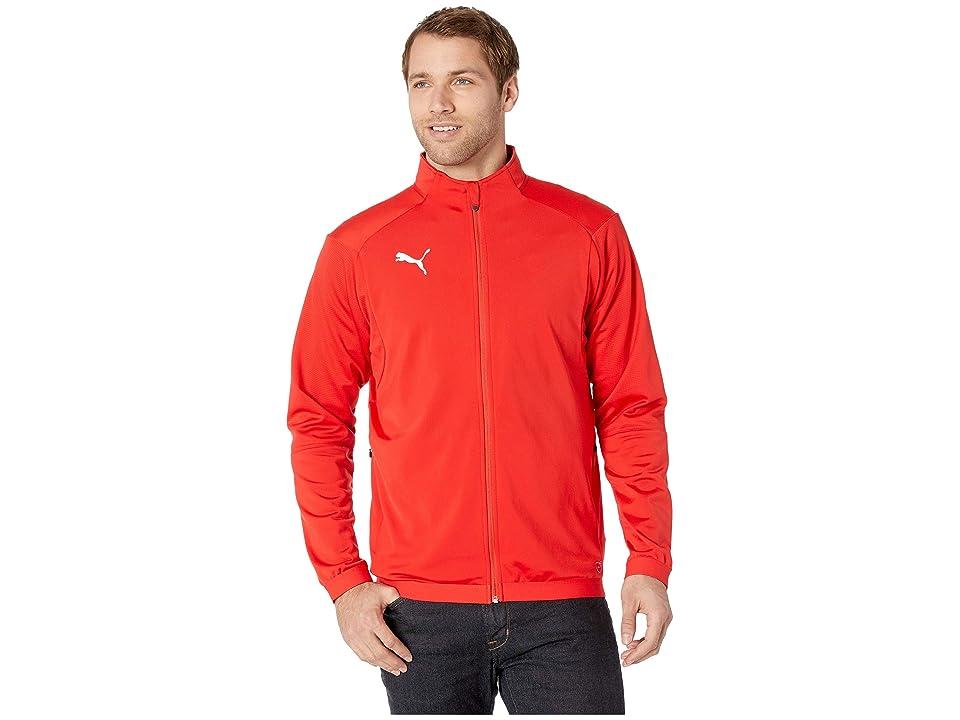 PUMA Liga Training Jacket (Puma Red/Puma White) Men