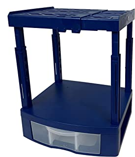 Tools for School Locker Drawer and Height Adjustable Shelf. Includes 2 Removable Drawer Dividers. Heavy Duty. Fits 12 Inch...
