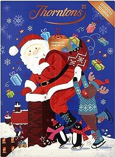 Thorntons Milk Chocolate Christmas Santa Advent Calendar 93g チョコレート アドベントカレンダー