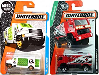 Matchbox Aqua King Thirst Delivery Truck #30 Desert Thunder V16 #109 pack in PROTECTIVE CASES