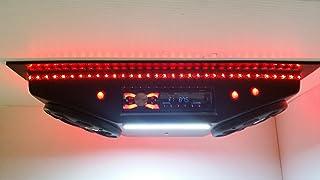 ThunderBuckets Custom Golf Cart Radio UTV Overhead Stereo Console with Bluetooth