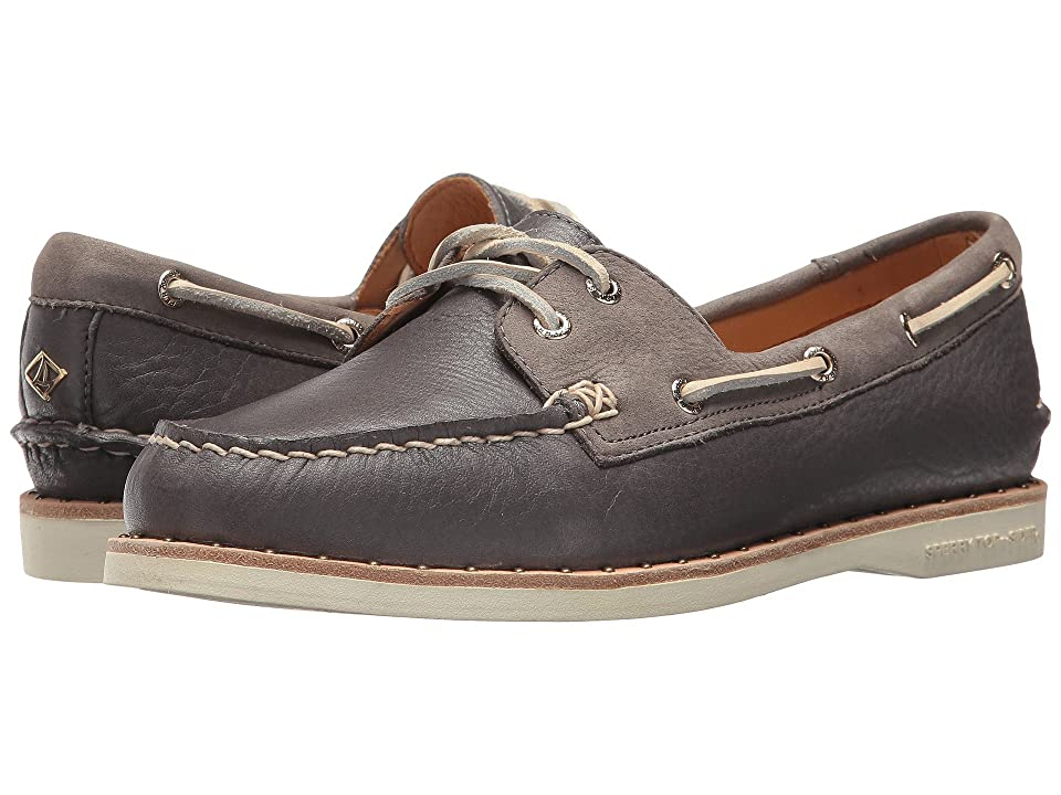 Sperry Gold Cup A/O Studded Welt (Dark Grey) Women