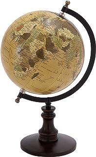 لعبة الكرة الأرضية من ديكو 79 مع تفاصيلات خشبية