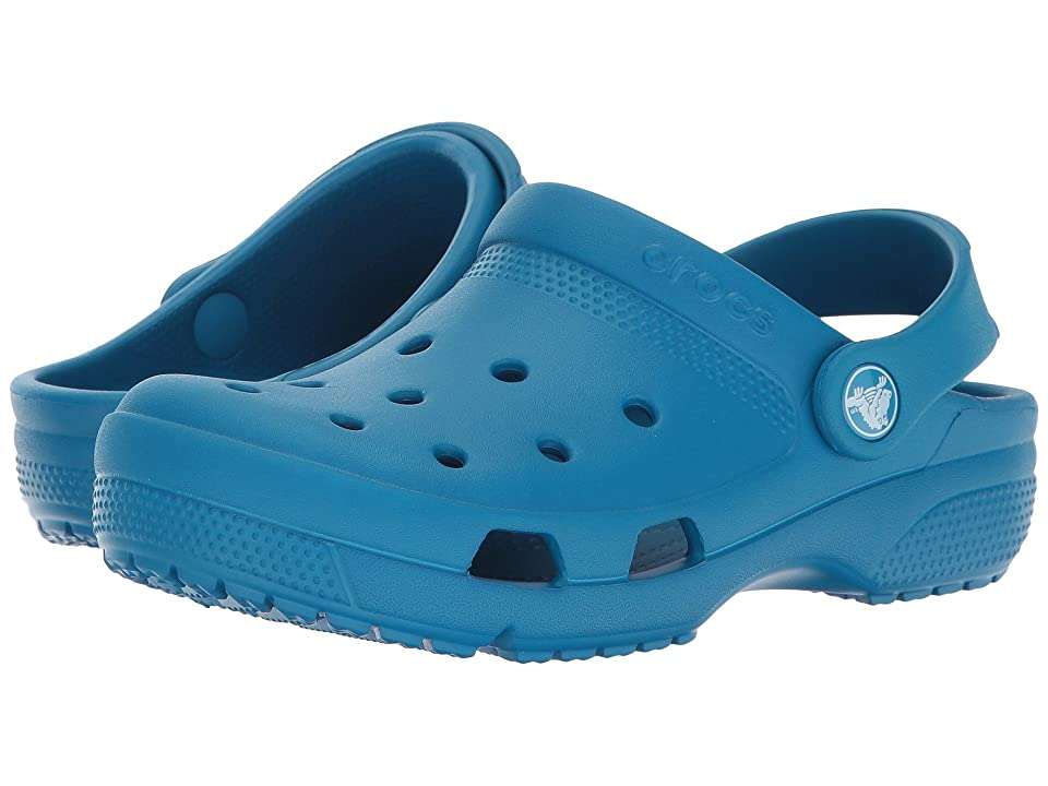 Crocs Kids Coast Clog (Toddler/Little Kid) (Ultramarine) Kids Shoes