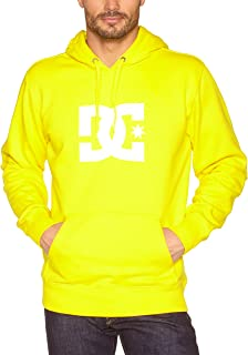 DC Shoes Star PH Men's Sweatshirt Screenline, Men, Screenline Sweatshirt Star PH, safety yellow, X-Large