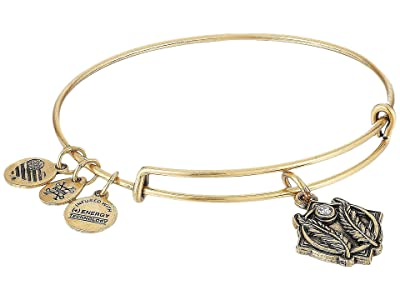 Alex and Ani Godspeed II Bangle (Rafaelian Gold) Bracelet