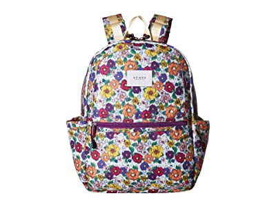STATE Bags Kids Kane Ikat Floral (White Multi) Backpack Bags