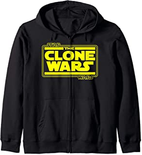 Star Wars Clone Wars Basic Logo Sweat à Capuche